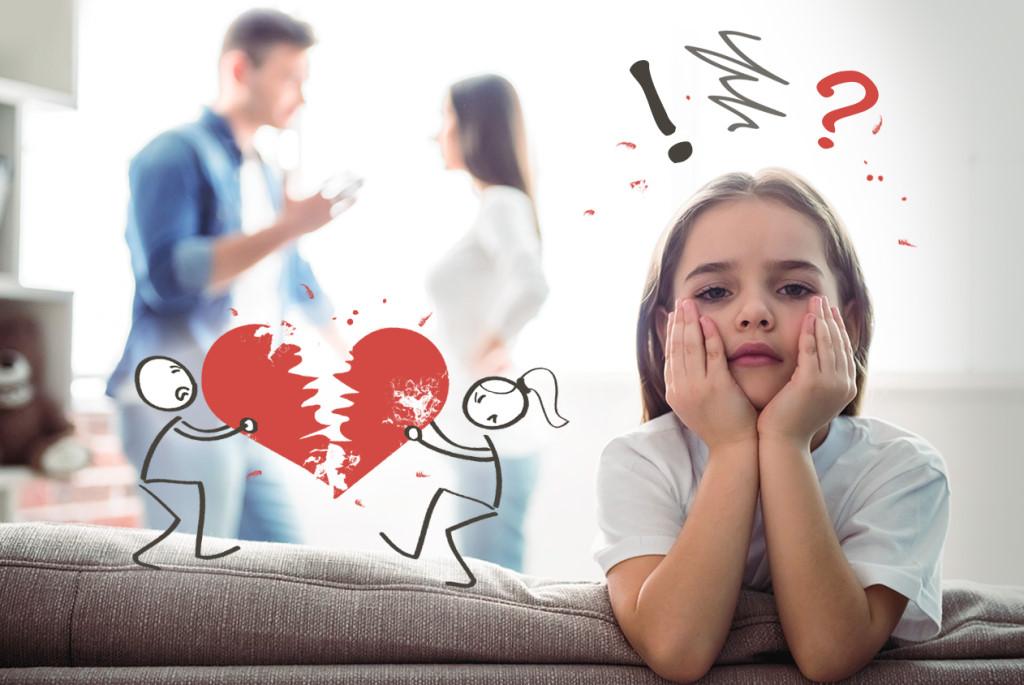 как сказать детям о разводе - советы психолога