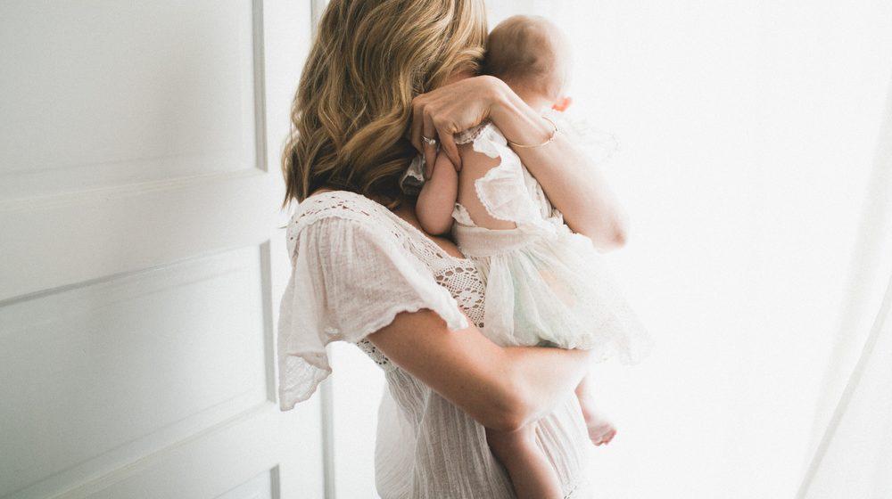 Счастливая женщина: мать-одиночка