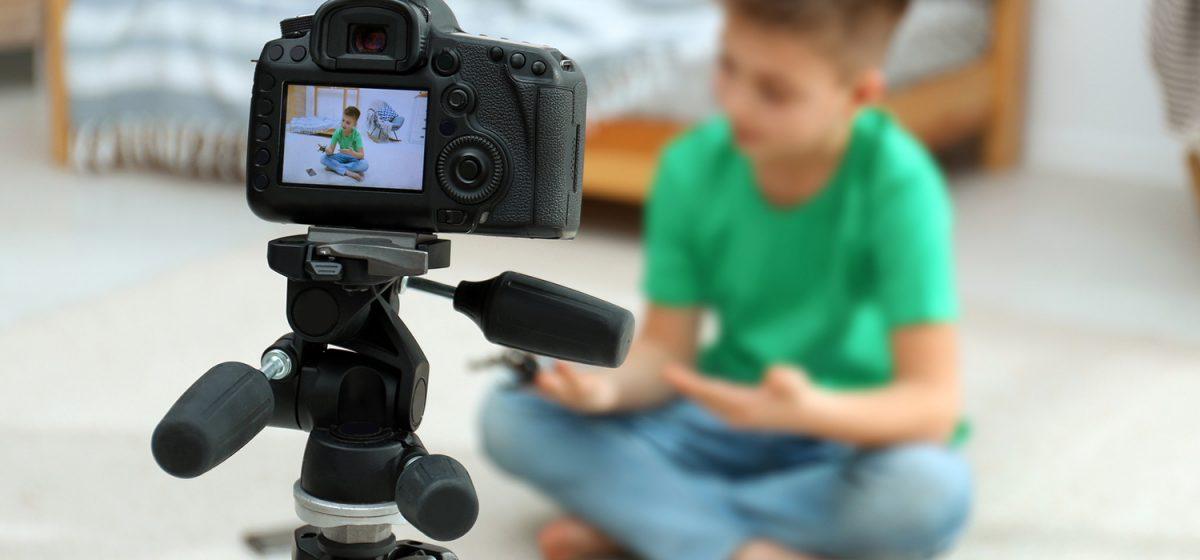 Как ребенку стать блогером